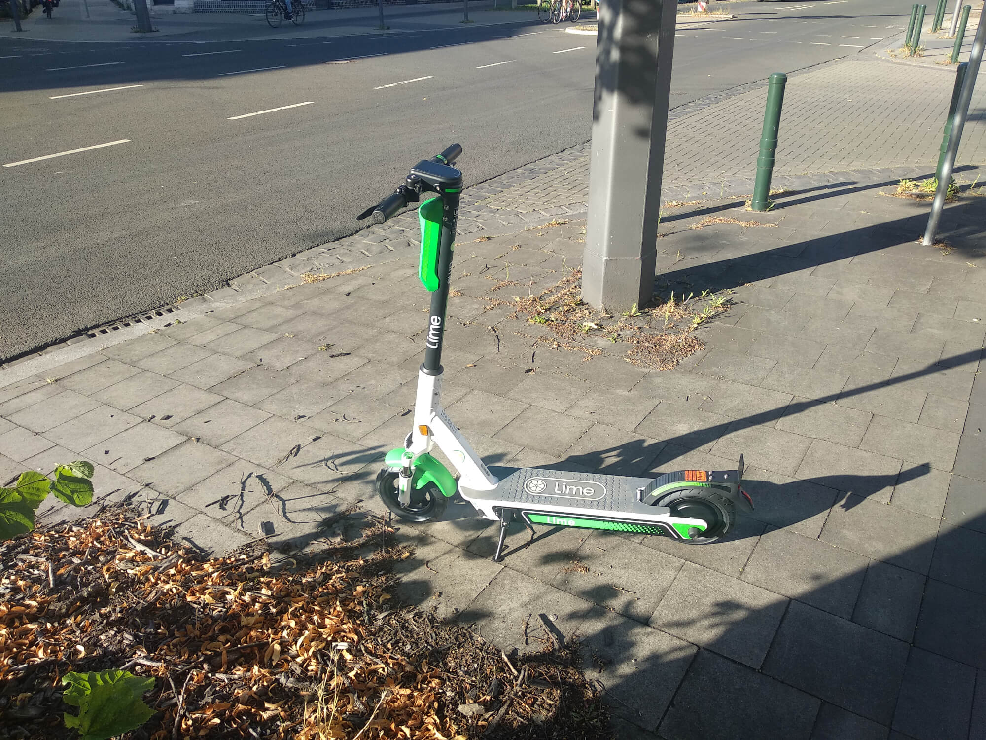 Ein E-Scooter von Lime