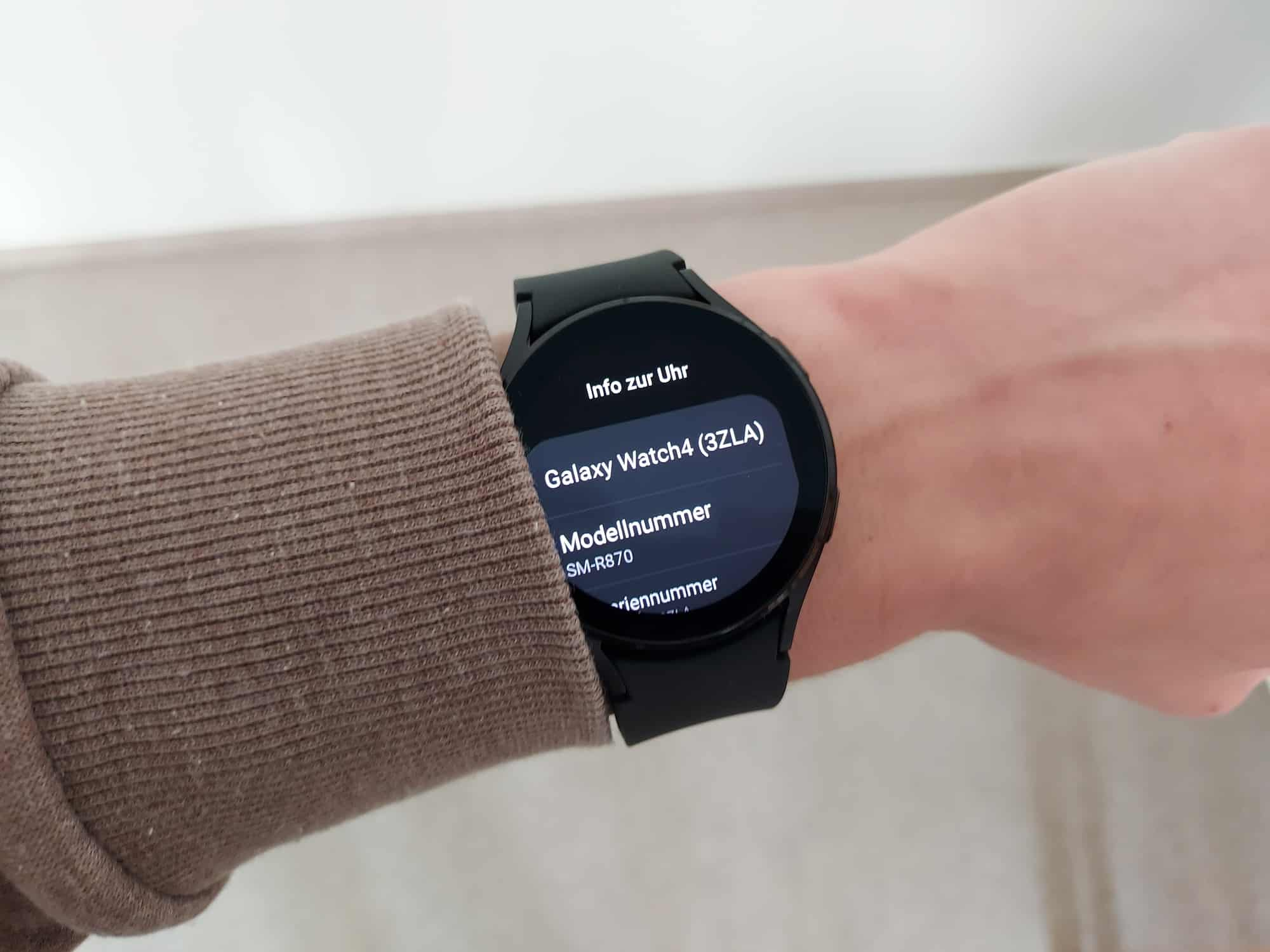 My new Samsung Galaxy Watch 4